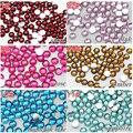 10000 PCS 2 mm colorido strass resina de volta para telefone celular, Sacos, Nail art, Sapatos, Ect. Beleza para componentes Diy