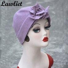 Women 's Vintage Flower Cloche Church Hat