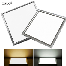 ZINUO Led Panel Ceiling Light 8W 12W 18W 300X300 Integrated Embedded Ceiling Wall panel Lamps For Kitchen Bathroom Office