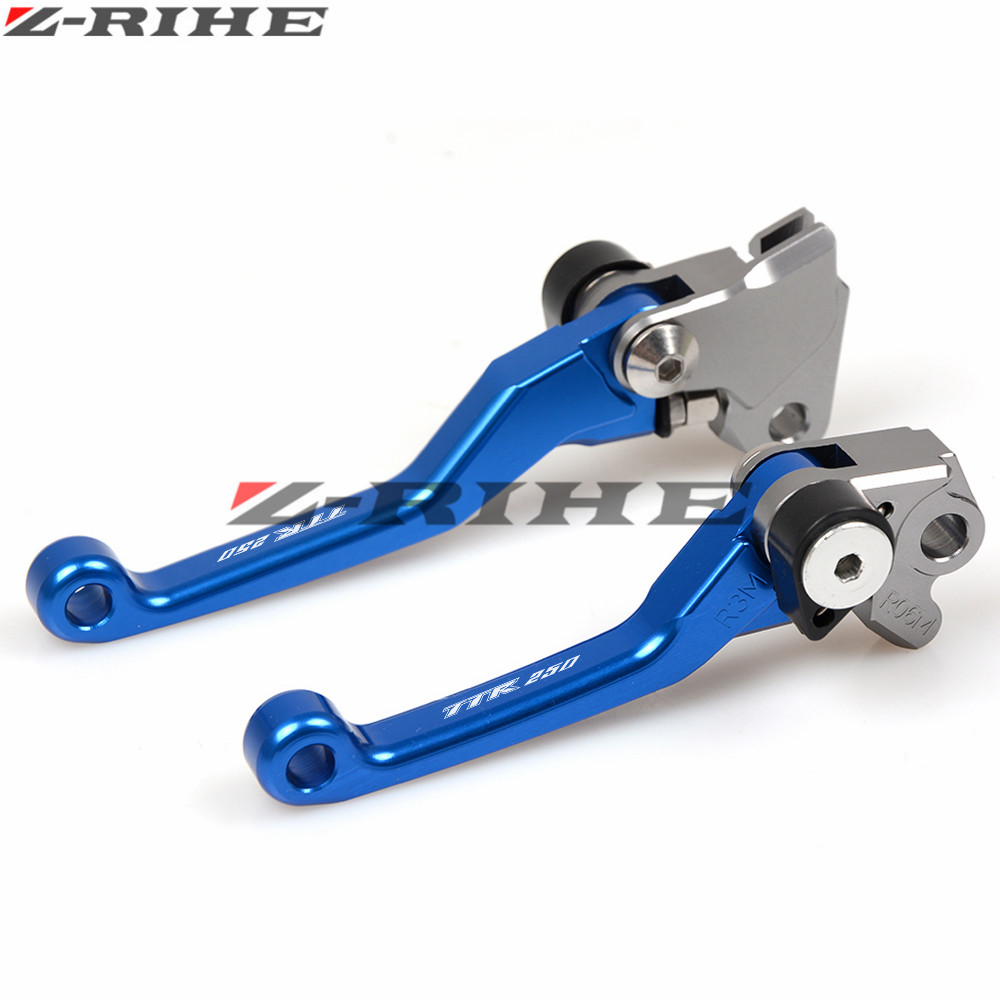 CNC Dirt Bike Clutch Brake For Yamaha TTR250 1993 1994-1997 Motocross Off Road Pivot Racing Motorcycle CNC Brake Clutch Levers universal parts dirt bike motorcross off road motorcycle modify wire cable brake clutch line adjusters adjustment screws m8x1 25