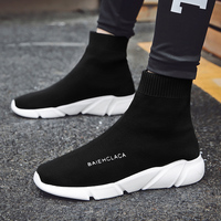 size 35 46 outdoors Sneaker Running Shoe for Men woman sock footwear sport athletic breathable female Sneakers trainers summer
