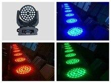 2 adet/grup, hareketli kafa 36×10 W RGBW LED Yıkama Işıkları karışık 4 in 1 Quad profesyonel ses konser parti disko dj gece kulübü ışıkları