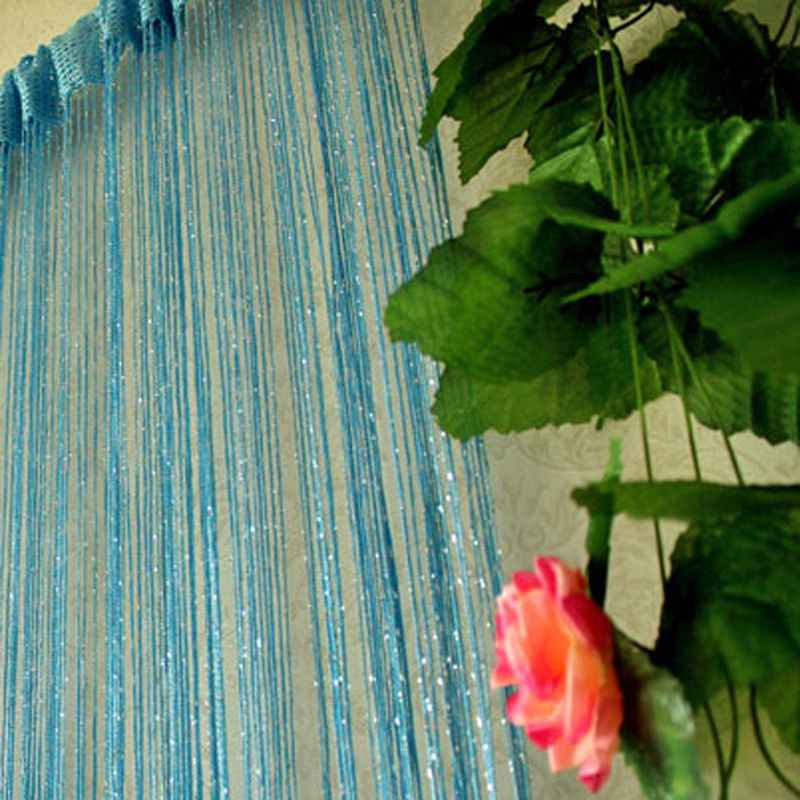 Thread String Curtain Decorative Line Curtains Partition Valance Sheer Curtains for Door Living Room Window Bedroom Decor