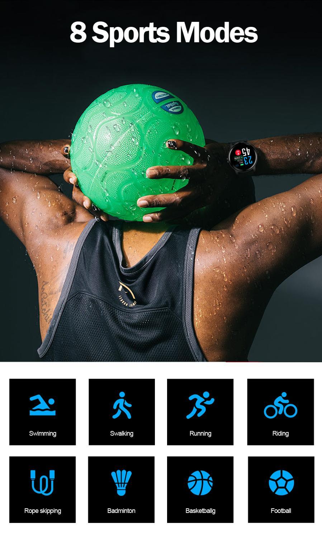 S08 Smart Watch Men Heart Rate Smartwatch Women blood pressure Smart Bracelet IP68 Sport watch Fitness wristband for ios android