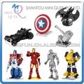 Piece Fun 3D Laser Cut DIY Assembly Models Metal Puzzle Avengers batman Iron Man Bumblebee Shield Adult kids educational toy