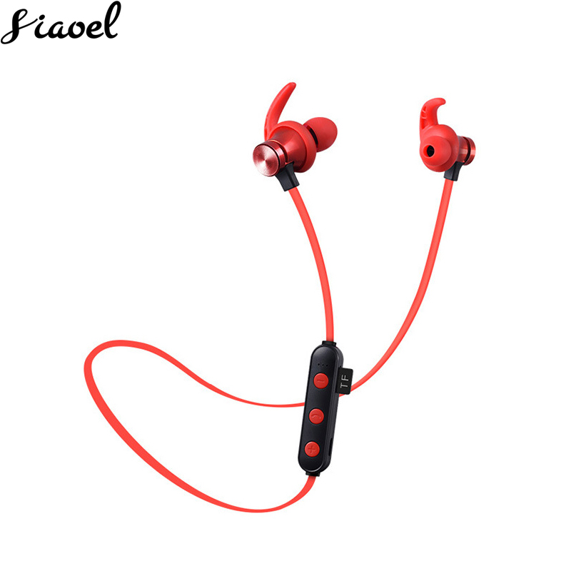Buy One Get One[Earphone+4G TF Card] Bluetooth Earphone Headset waterproof sports 4.2 with Charging Cable Earphone With Mic image