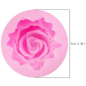 Image 3 - 3D ローズ花の形のシリコーン石鹸型枠チョコレートケーキ型手作り diy 装飾石鹸シリコーン型