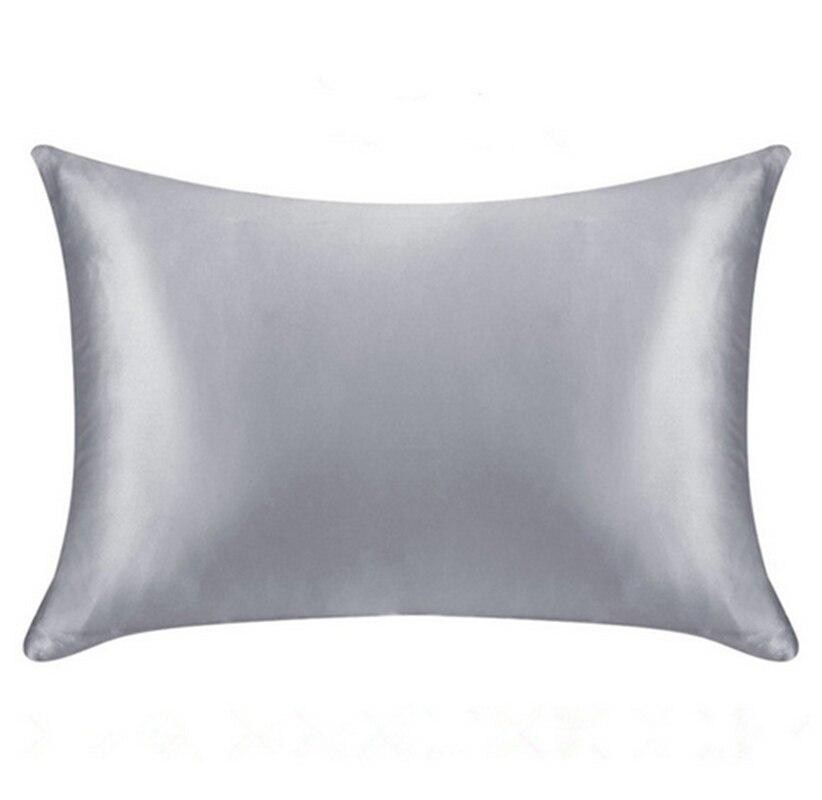 Custom Order 100 Mulberry Silk Zipper Pillowcase 1pc In