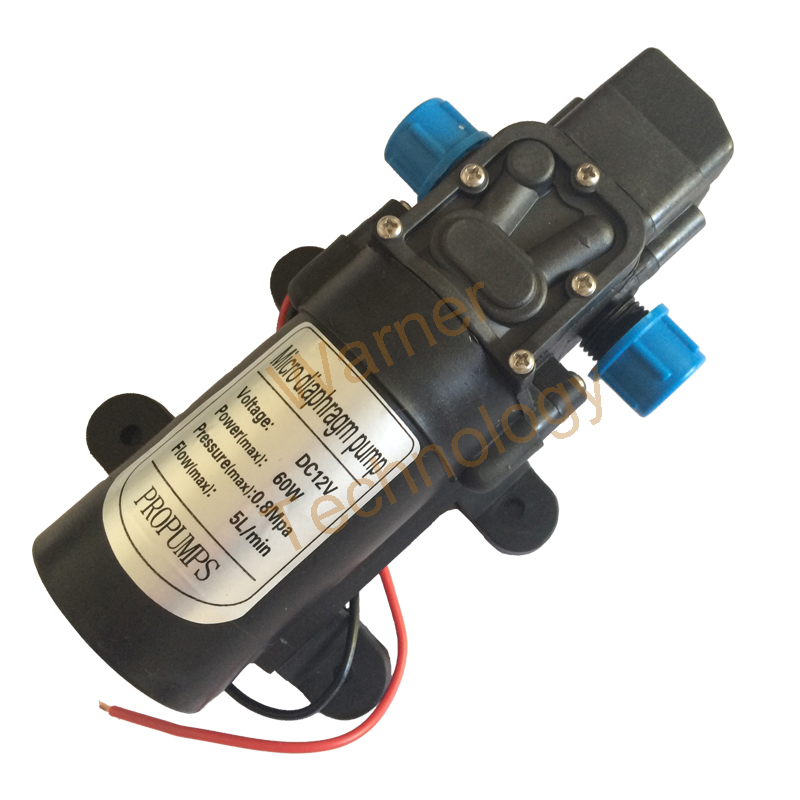 ФОТО 3pcs 0142YB-12-60 New Car washing pump 12V DC Power Long life 50M Head, Self priming, For Garden Watering and Other Ciculation