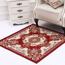 beibehang European-style door mats home water-absorbing non-slip carpets square tables and chairs blankets bedroom carpet mats(China)