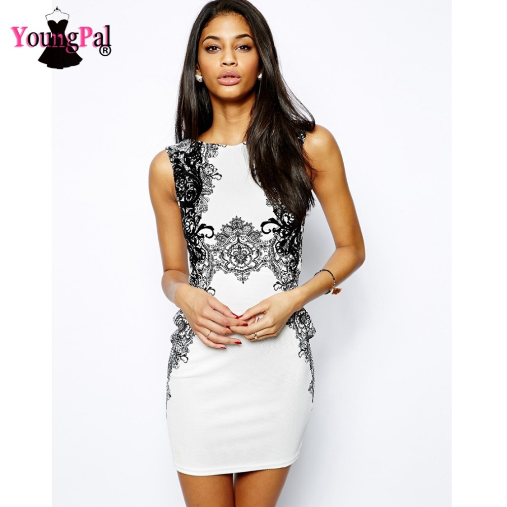 2015 New Celeb Floal Lace Embroidery Vintage Dress White