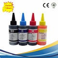 Universal 4 color dye ink para hp, 4 color + 100 ml, para hp premium dye ink, general para hp tinta da impressora todos os modelos