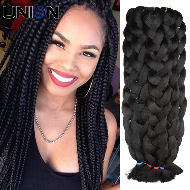 Braids Black Color