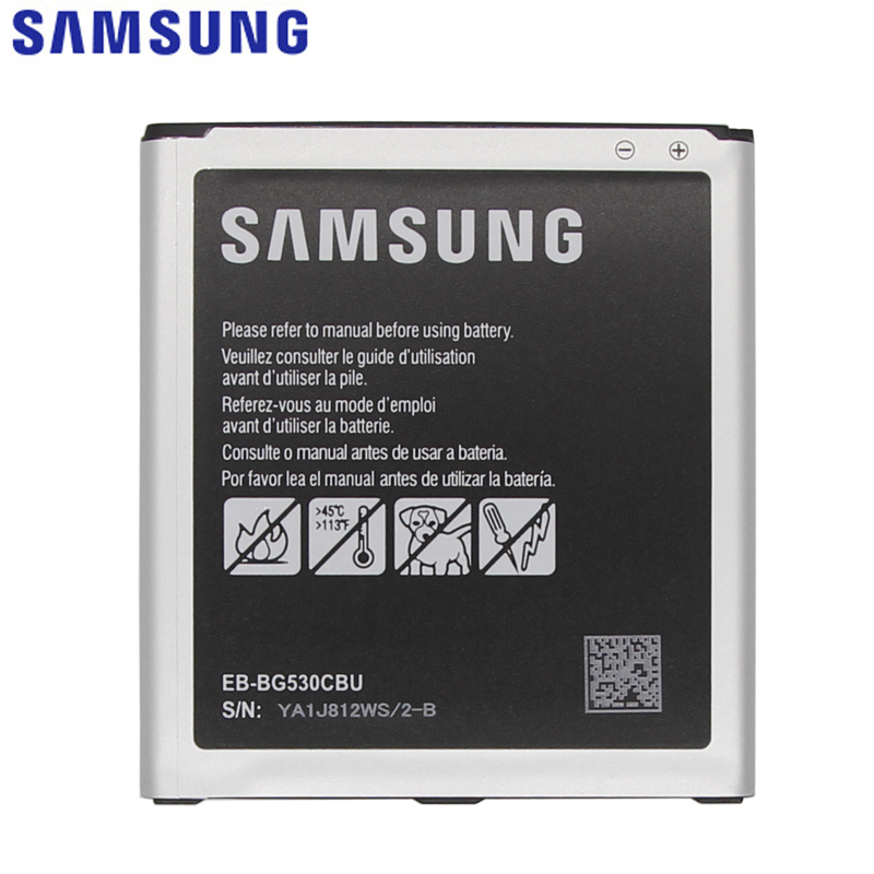 Samsung Original Ersatz Batterie EB-BG530CBU EB-BG530CBE Für Galaxy Groß Prime J3 2016 EB-BG531BBE G5308W G530 G531F G530H G530F