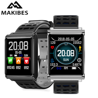 Makibes CK02 Smart Watch Men Women Blood Pressure Heart Rate Monitor Fitness Tracker Clock Smartwatch For IOS Android