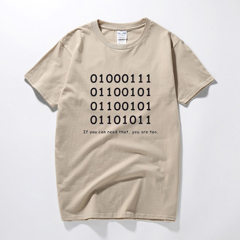 Funny Birthday Gift For Men Husband Boyfriend Brother A Best Friend Adult Programmer Geek Binary Ascll Creative T Shirt In Shirts From Mens