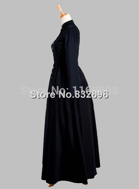 da era vitoriana vestido de seda tailandesa 02
