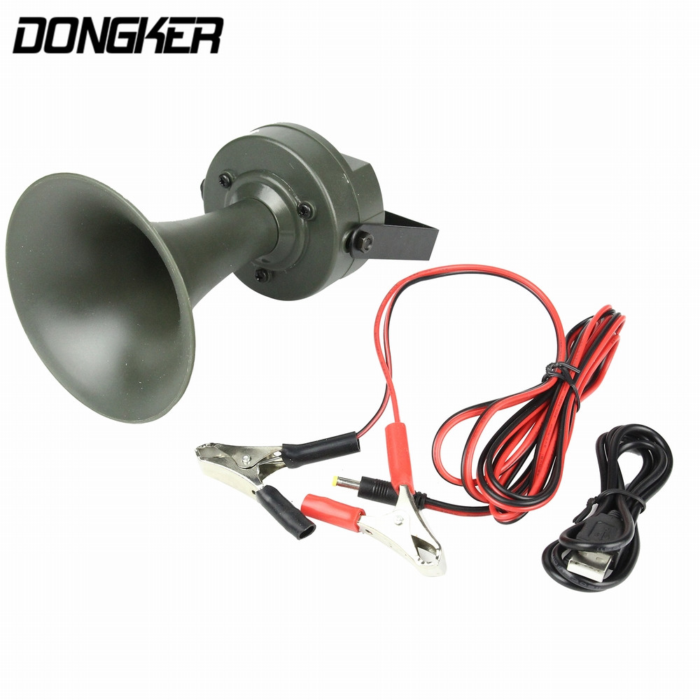 Outdoor Hunting Bird Caller MP3 Player Electronic Animal Tweet Caza Decoy Device 125DB Sound Amplifier Loudspeaker+Timer On/Off
