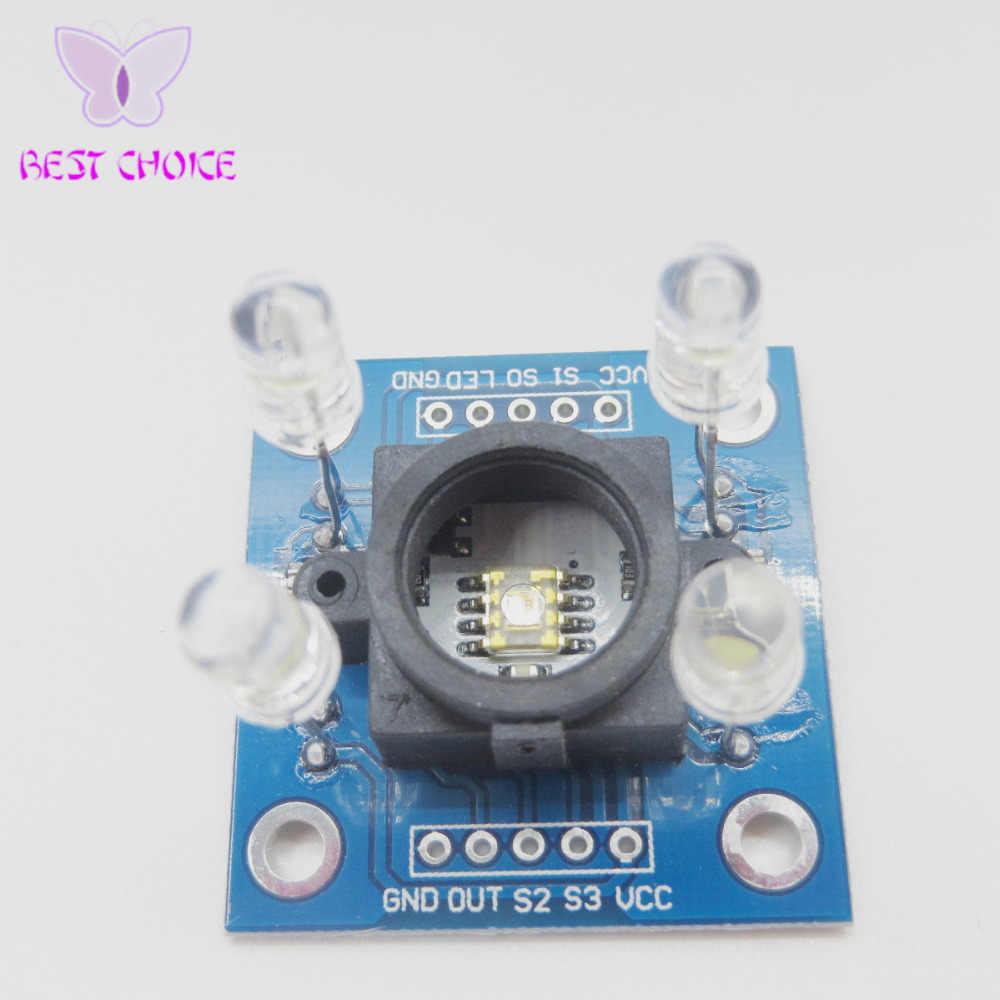 Trasporto Libero 1 pz/lotto Nuova Versione TCS230 TCS3200 Sensore di Colore Modulo GY-31