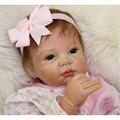 Xrnt silicone renascer bonecas reborns lifelike bebê 22 polegada de silicone de corpo inteiro para venda realista boneca reborn criança meninas toys
