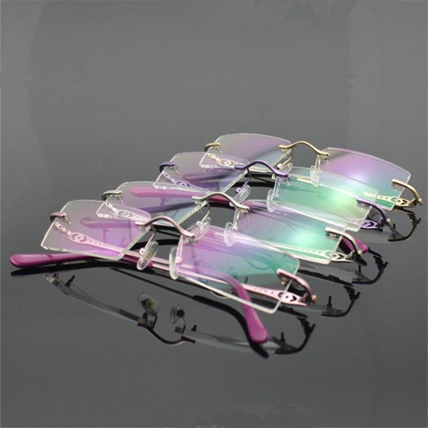Frameless Glasses Target : Fashion High-end Ultralight Rimless Glasses Frames for ...