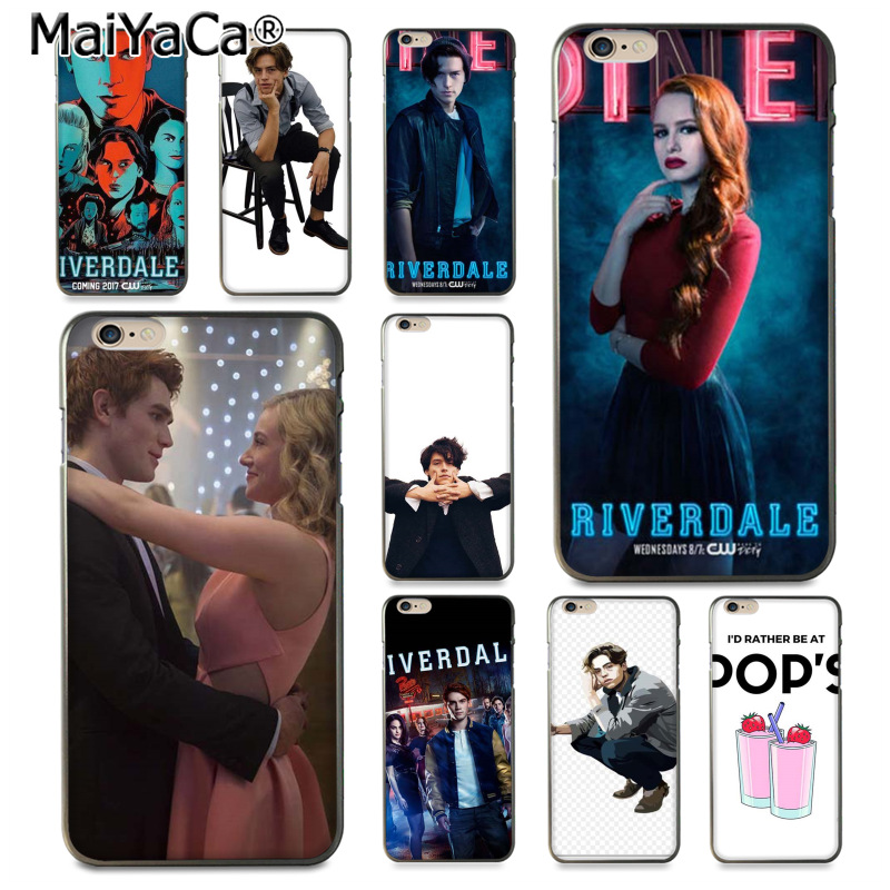 MaiYaCa American TV <font><b>Riverdale</b></font> I'd Rather Be At Pop's Luxury phone <font><b>case</b></font> for <font><b>iPhone</b></font> 8 7 <font><b>6</b></font> 6S Plus X 10 5 5S SE 5C Coque Shell image