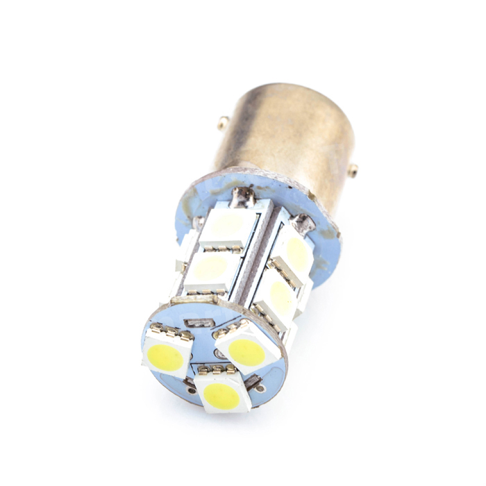 Hot sale 1156 BA15S P21W 13 SMD 5050 LED Brake Parking Rear Tail Lamps Auto Led Car Bulb 12V 13SMD Turn Signal Light Bulb 2x 12v 24v auto car led light ba15s 1156 p21w led 50 smd 50smd high quality turn signal light bulb turn lamp white yellow red