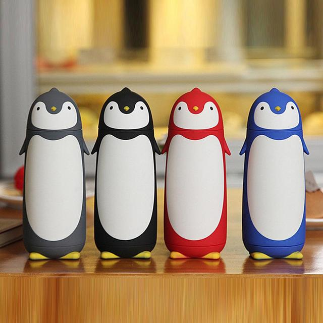 Cups Vacuum Thermos 73 Cup Thermoe Shape Penguin Us9 Mug Glass Stainless Steel Coffee Thermo Fask creative Drinkware Travel 33Off In CdxhQrtsB