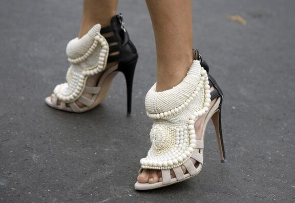 white string bead back zipper bootie mixed color cut-out high thin heel fashion street style women sandals luxury dress shoes fashion designer women high heel sandals mixed color strap cut out pumps heel elegant ladies weeding dress shoes real photo