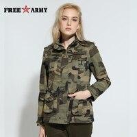 High Quality Camo Women Jacket Military Tactical Coat Sports Bomber Jacket Green Womens Designer Brand Coat