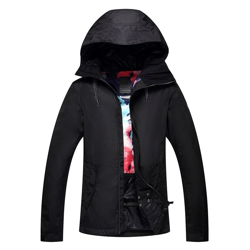 GSOU combinaison de Ski de neige femme couleur Pure simple Double planche extérieur imperméable coupe-vent chaud veste de Ski randonnée voyage vêtements