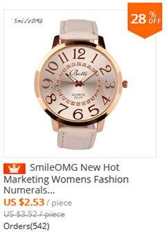 40bd1483a69 ⊰Smileomg reloj nuevas mujeres de negocios metal Band analog cuarzo ...