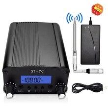 Fm-радио 1 Вт/7 Вт стерео PLL fm-передатчик для радиостанции whosesales