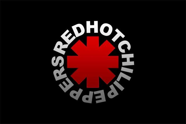 custom canvas art red hot chili peppers poster red hot chili peppers wallpaper music band logo. Black Bedroom Furniture Sets. Home Design Ideas