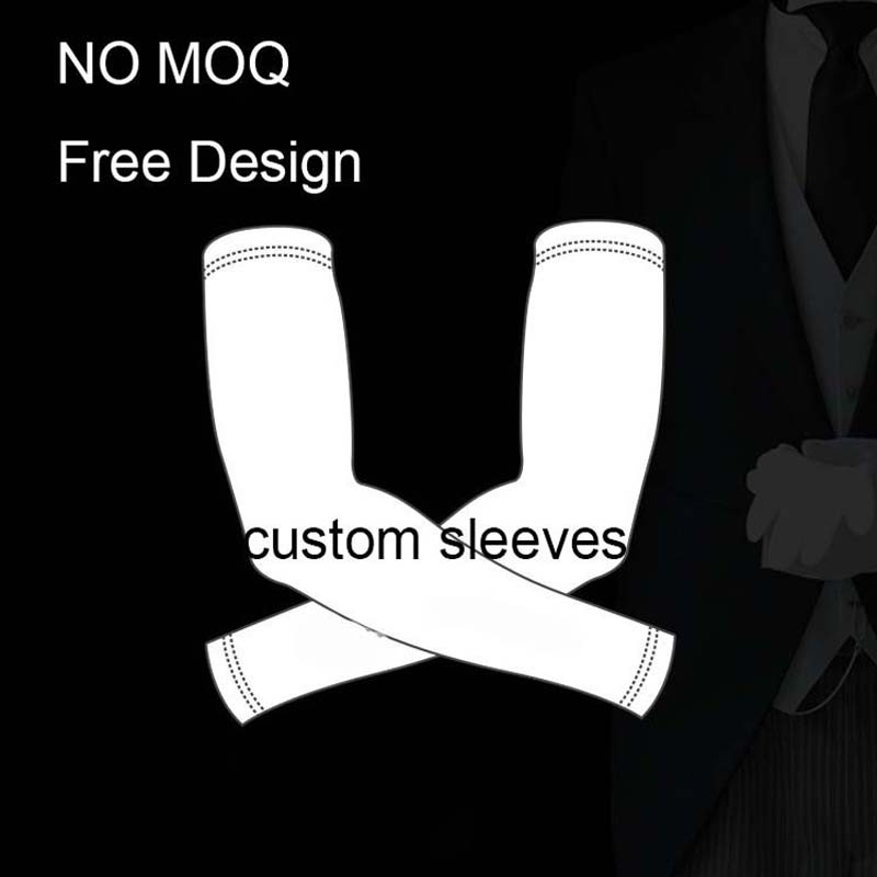 No MOQ Custom High Quality Cycling Arm Warms Bike Bicycle Arm Sleeve Manguitos Para Ciclismo Any Color Any Size Any Style in Arm Warmers from Sports Entertainment