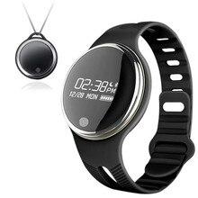 016 E07 Smart Uhr für apple iphone IOS Android Smartphone GPS Bewegungspfad Fahrrad reiten Schlaf Überwachung Sport SmartWatch