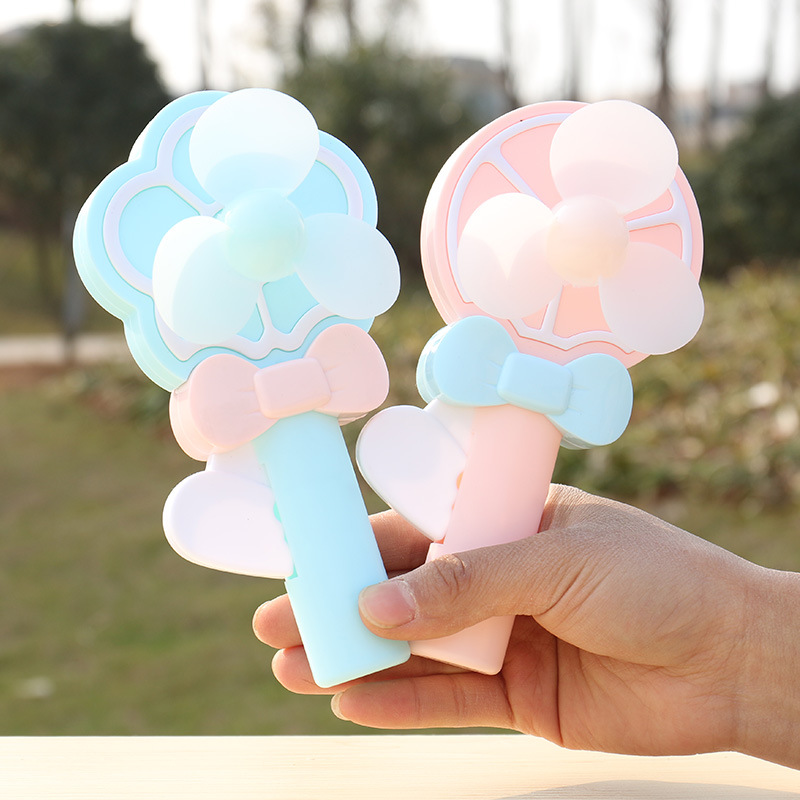 Lovely Portable Mini Air Conditioner Fan Flower