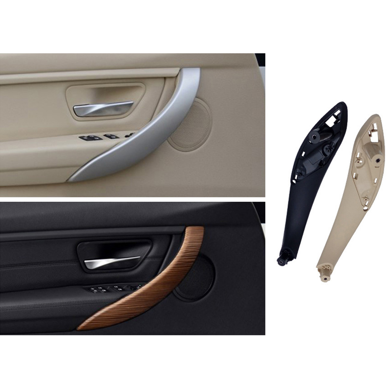 Car Left Right Interior Inner Door Armrest Panel Handle Pull Trim Cover For BMW 3 Series 2013-2018 F30 F32 F33 F34 F35 F36 F82