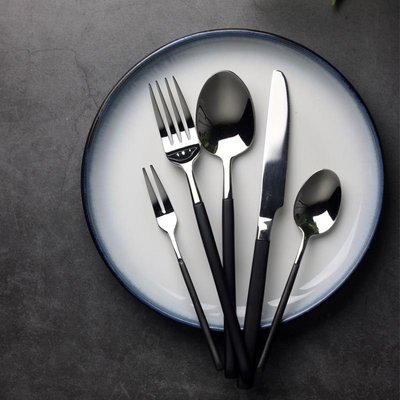 24pcs Western Royal შავი - სამზარეულო, სასადილო და ბარი - ფოტო 2