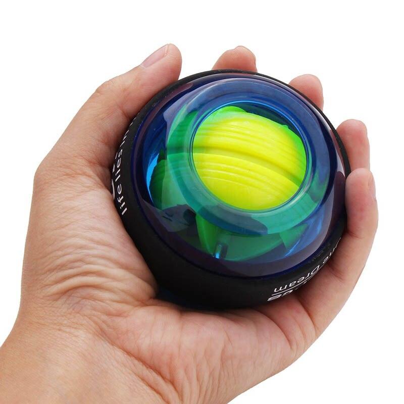 Gyroscope powerball led giroscópio pulsos de energia bola braço exercício força formação energyball casa ginásio esportes equipamentos fitness