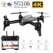 SG106 WiFi FPV RC Drone with 720P or 1080P or 4K HD Dual Camera Optical Flow Aerial Video RC Quadcopter for Toys Kid VS S20 E58