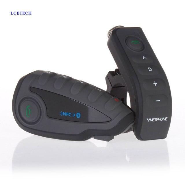 2019 Original EJEAS Walkie Talkie Bike Bluetooth Headset Unterstützung Hohe ende NFC Passenden Hörer Mit Motorrad Fern Griff