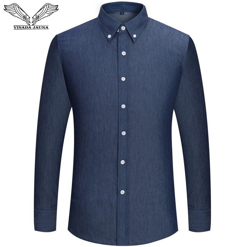 VISADA JAUNA Muške košulje Europska veličina S-XXL 2018 Ljeto - Muška odjeća - Foto 2