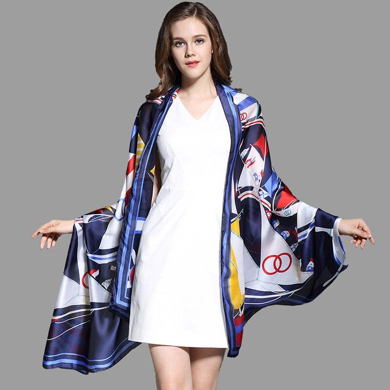 YOUHAN 2018 New Fashion Women Scarf Silk Spring Summer Female Scraf Shawl Ladies Scarves Travel Beach Pashmina Shawl Foulard