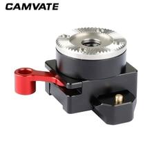 CAMVATE Quick Release Swat NATO Clamp Mit M6 ARRI Rosette Mount Adapter C2095