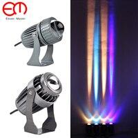 Narrow Beam LED Waterproof Wall Lamp Outdoor IP65 Aluminum 10W COB Porch Garden Porch light Led spotlight Floodlights ZFG0004