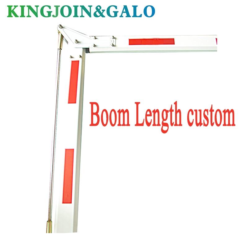 90 Degree Folding Drop Arm Boom Barrier Gate