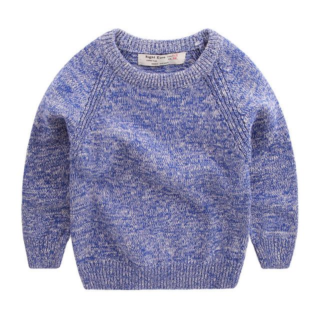 2016 Outono Inverno Meninos Lazer Blusas de Malha Pullovers Casuais das Crianças Do Bebê Crianças Malha Roupas Próximo Pullover