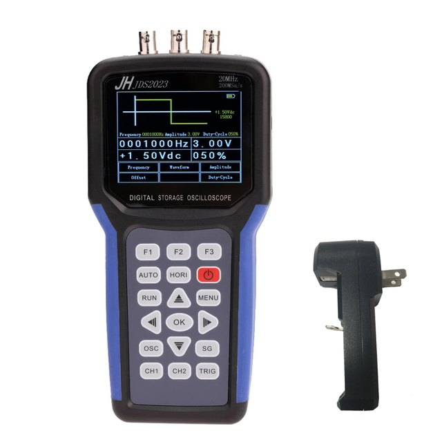 Special Offers JDS2023 Multi-functional Digital Oscilloscope with Signal Generator Scope Meter 20MHz Bandwidth 200MSa/s 1CH TFT LCD Display