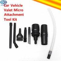 8 pçs mini micro ferramentas valet carro veículo e computador teclados kit de limpeza para aspiradores dyson